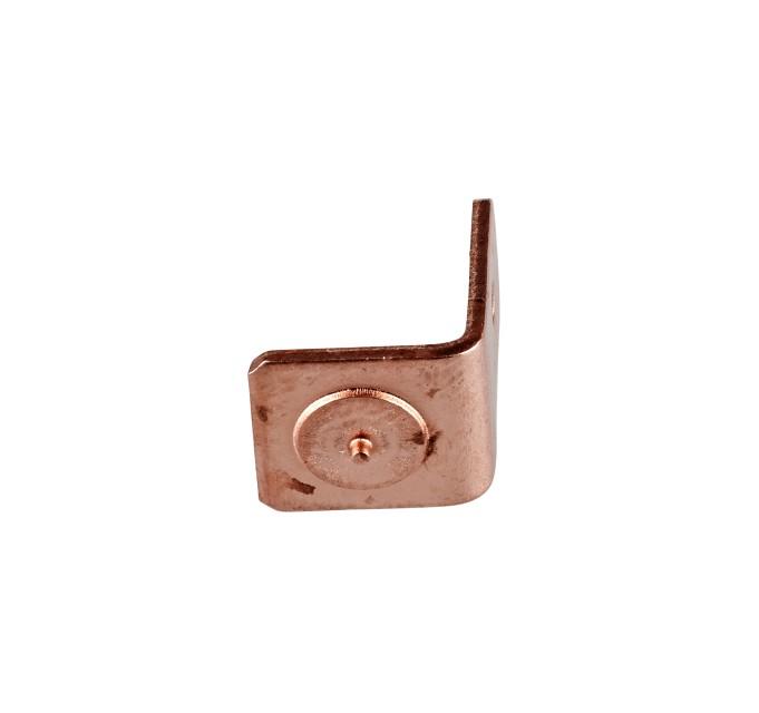 Elektrokonektory 6,3 mm poměděná ocel 4.8